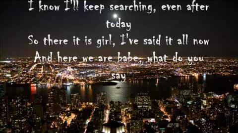 Bob Seger-we've got tonight with lyrics
