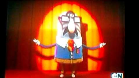 El señor robinson cantando