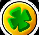 Lucky Coin Pin