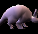 Non Coloured Aardvark