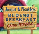Jumba & Pleakley's Bed & Not Breakfast