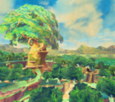 Lugares de The Legend of Zelda: Skyward Sword