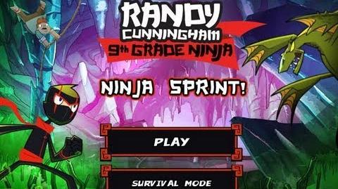 Games Randy Cunningham 9th Grade Ninja - Ninja Sprint (Part 1)