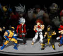 Mortal Kombat vs Street Fighter vs Marvel vs Super Smash Bros. vs Tekken vs Blazblue