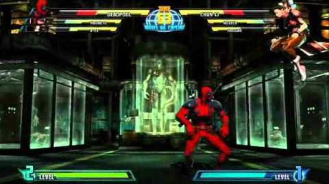 Deadpool reveal trailer for Marvel vs. Capcom 3