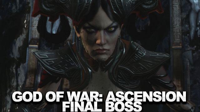 God of War Ascension Walkthrough - The Final Boss Fury
