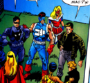 First Line (Earth-616) and Monster Hunters (Earth-616) from Marvel The Lost Generation Vol 1 2 0001.png
