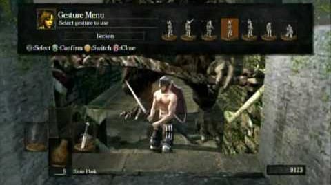 Dark Souls Funny Glitch