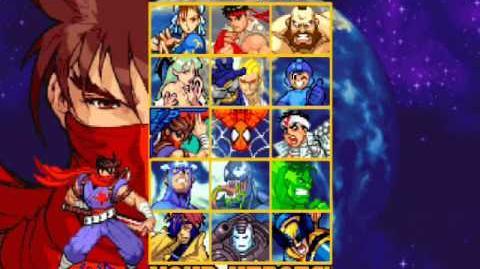 "Personajes ocultos marvel vs capcom ""Orange Hulk"""
