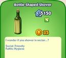 Bottle-Shaped Shower