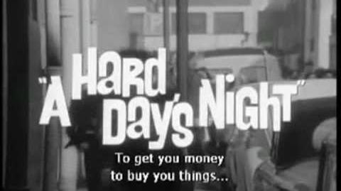 A Hard Days Night Movie Trailer