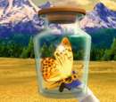 Gilded Golden Butterfly