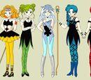 Personajes de Sailor Moon Crystal