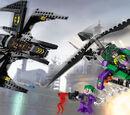 6863 La Bataille en Batwing au-dessus de Gotham City
