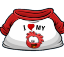 I Heart My Red Puffle T-Shirt