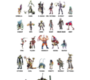 Indiegogo Mysterious Characters