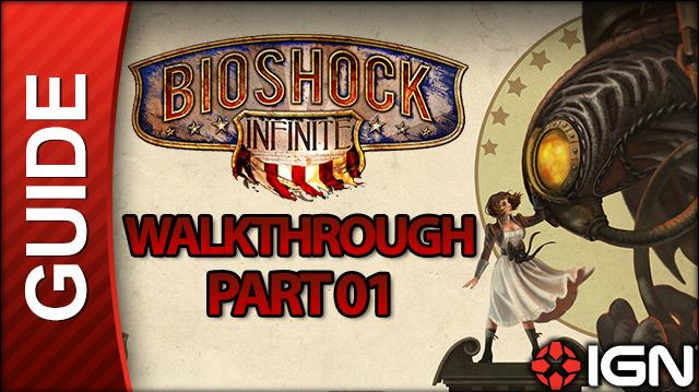 Bioshock Infinite Walkthrough - Part 01 The Lighthouse