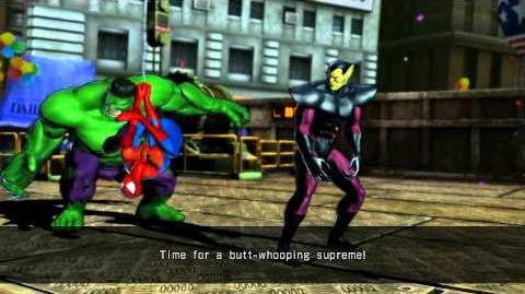 UMVC3 Spider-Man Quotes