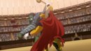 Bruce Banner (Earth-10022) and Beta Ray Bill (Earth-10022) from Planet Hulk (film) 0003.png