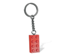 850154 Porte-clés Brique rouge