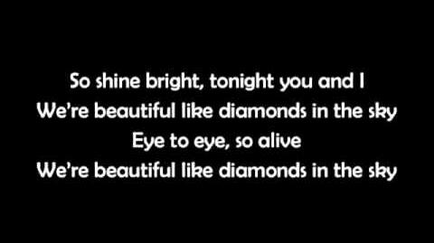 Diamonds - Rihanna LYRICS (Shine bright like a diamond)
