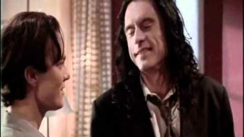 Tommy Wiseau Laughs at you for 15 Minutes