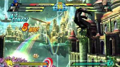 Captain America reveal trailer for Marvel vs. Capcom 3