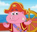 Pirate Pig aka Pirate Piggy