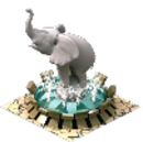 Fountain with Elephant.png