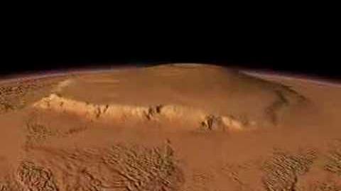 Olympus Mons, Martian Volcano-0