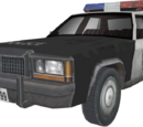 Ford LTD Crown Victoria policía (Resident Evil: The Darkside Chronicles)