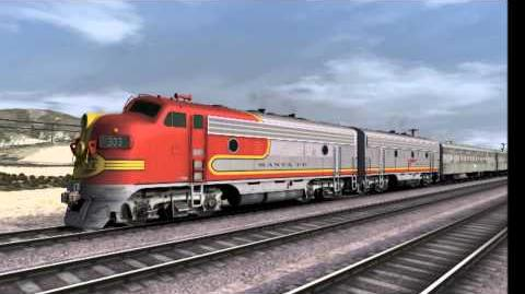 ATSF Warbonnet - Warbonnet Wendsday