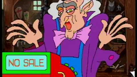 Zelda Cdi-Wand of Gamelon - ShopKeeper Scene