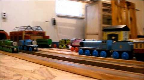 Thomas gets Tricked Wooden Remake