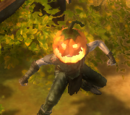 Eerie Jack-O'-Lantern