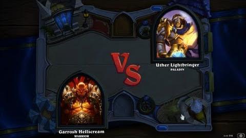 Hearthstone Heroes of Warcraft - Paladin vs. Warrior