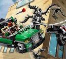 76004 Spider-Man : La poursuite en moto-araignée