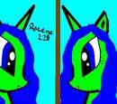 Roxena228/Moje rysunki MLP w programie Paint cz.1