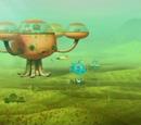 The Great Algae Escape