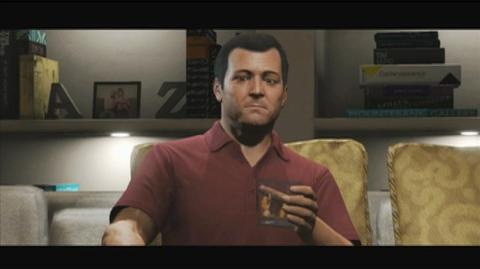 Grand Theft Auto V (VG) (2013) - Michael Character trailer