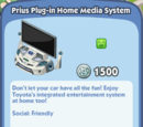 Prius Plug-In Home Media System