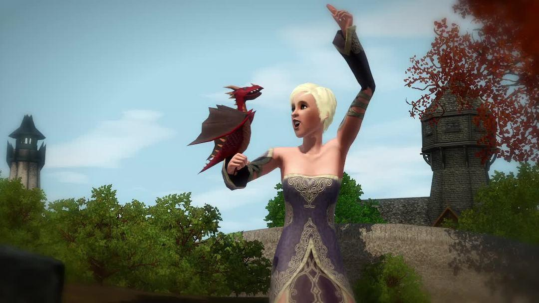 The Sims 3 - Dragon Valley