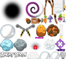Объекты Angry Birds Space