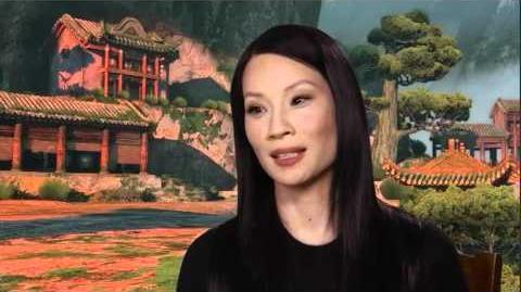 Lucy Liu - KFP2 interview
