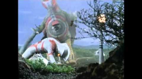 Ultraman Ace vs Bad Baron