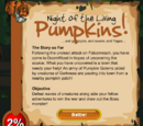 Night of the Living Pumpkins