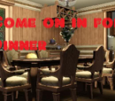 Come on in for Dinner