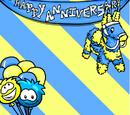 1st Anniversary Background