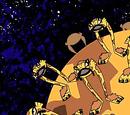 Orange Aliens