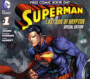 Superman: Last Son of Krypton - FCBD Special Edition Vol 1 1
